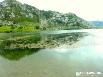 Descenso Sella - Lagos de Covadonga; valles de los pirineos; puente el pilar;verano viajes senderism